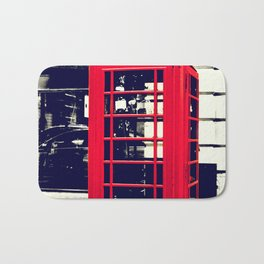 British Telephone Booth Bath Mat