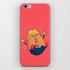 Trumpty Dumpty iPhone & iPod Skin