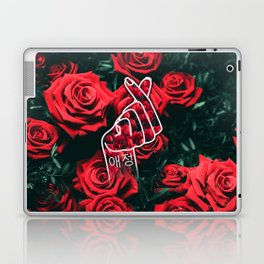 Love Finger Snap Roses Laptop & iPad Skin