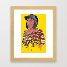 El Chavo del Ocho - Chespirito Framed Art Print