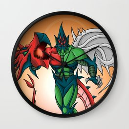 Yu-Gi-Oh! GX Elemental Hero Flame Wingman Wall Clock