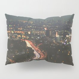 L.A. Skyline Photograph. Stardust Pillow Sham