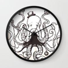 Octoluminary Wall Clock