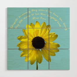 Brightest Lives Wood Wall Art