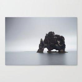 Hvítserkur Canvas Print