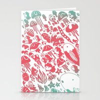 ponyo Stationery Cards featuring Ponyo by drawnbyhanna