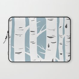 Blue Birches Laptop Sleeve