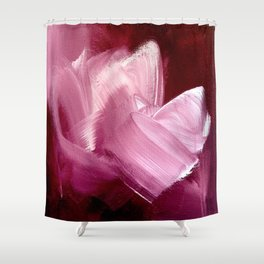 Maroon 2 (Color Study) Shower Curtain