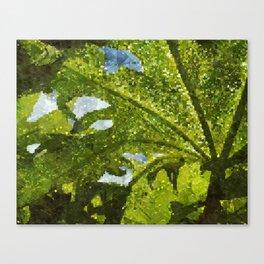 Leafart Canvas Print