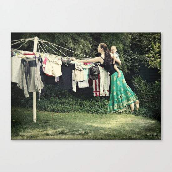 Secret Powers of a Supermom (I wish!) Canvas Print