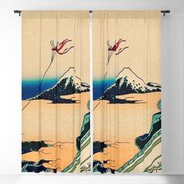Katsushika Hokusai - Toto Asakusa Honganji Blackout Curtain