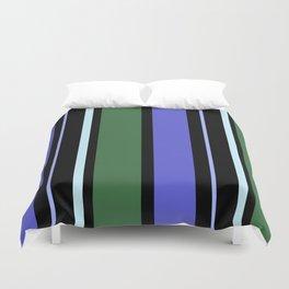 Stripes in colour 6 Duvet Cover