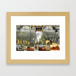 SELF DESTRUCTIVE (The Human Condition Collection) Framed Art Print