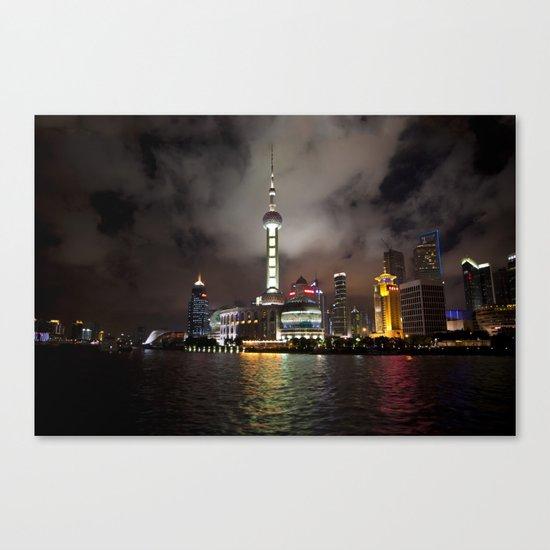 Shanghai Pearl Canvas Print