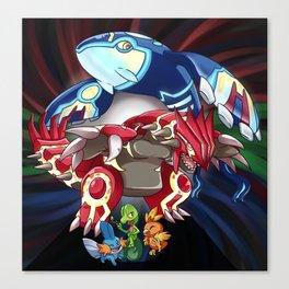 Alpha and Omega Canvas Print