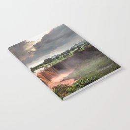 Nile Falls Notebook