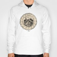 astronomy Hoodies featuring Astronomy Pug by beart24