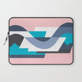 SUISSE - Art Deco Modern: MIAMI DECO Laptop Sleeve