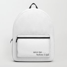 BTS save me, butterfly Backpack