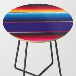 Serape of Mexico Side Table