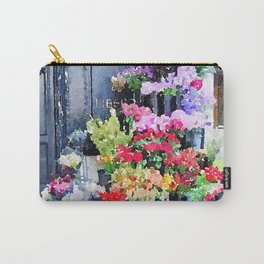 Mallory's Parisian Florals Carry-All Pouch