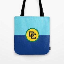 flag of caribbean community Tote Bag
