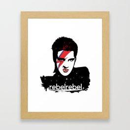 We Are All StarDust Rebel Framed Art Print