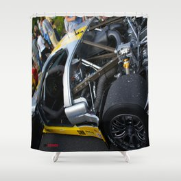 Ford GT40 | Streets of Elkhart Lake Shower Curtain