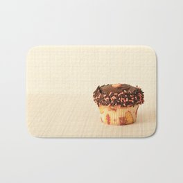 Cup Cake (Retro and Vintage Still Life Photography)  Bath Mat