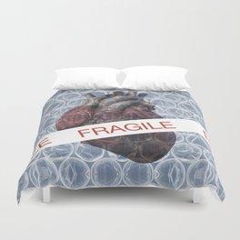 Fragile heart Duvet Cover