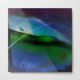 Landscape by night Metal Print