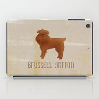 brussels iPad Cases featuring Brussels Griffon by 52 Dogs