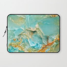 Onyx - blue and orange Laptop Sleeve