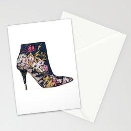 Shoe/Boot Illustration Stationery Cards