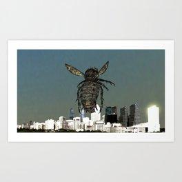 Fly:City Watch Art Print