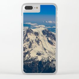 Pacific Northwest Aerial View - II Clear iPhone Case