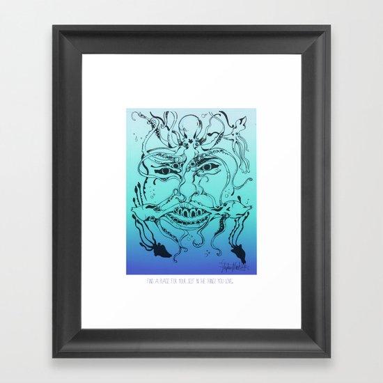 Find a Place Framed Art Print