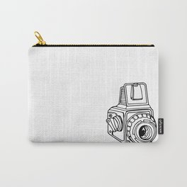 Medium Format SLR Camera Drawing Carry-All Pouch