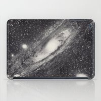 astronomy iPad Cases featuring Vintage Astronomy-Nebula M31 Andromeda by lacelace