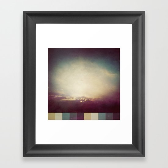 Grounded and Free Framed Art Print