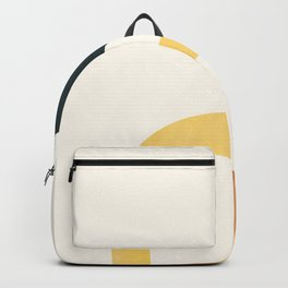 Minimal Abstract Shapes No.40 Backpack