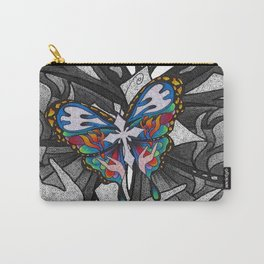 Christianity Themed Butterfly Art Carry-All Pouch