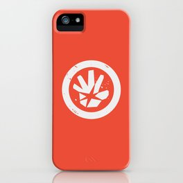 OBS Hand Symbol iPhone Case