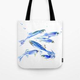 Zebra Fish, Danio Tote Bag