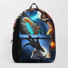 tracer over Backpack