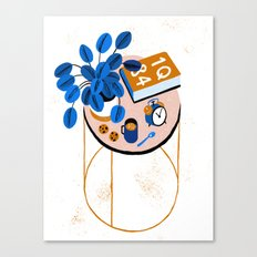 Murakami and Cookies Canvas Print