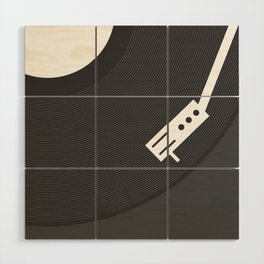 Vinyl Record Wood Wall Art