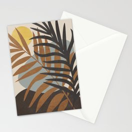 Abstract Tropical Art IV Stationery Cards