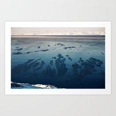 Ilulissat Greenland: The land of dog sleds and Midnight Sun Art Print