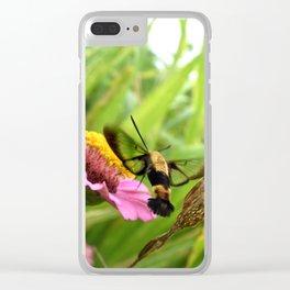 Bumble shrimp Clear iPhone Case